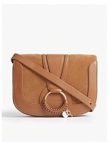 See By Chloé Hana Shoulder Bag Caramello