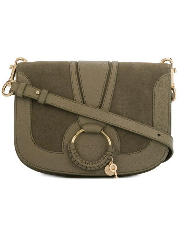 See By Chloé Hana Shoulder Bag Dark Khaki