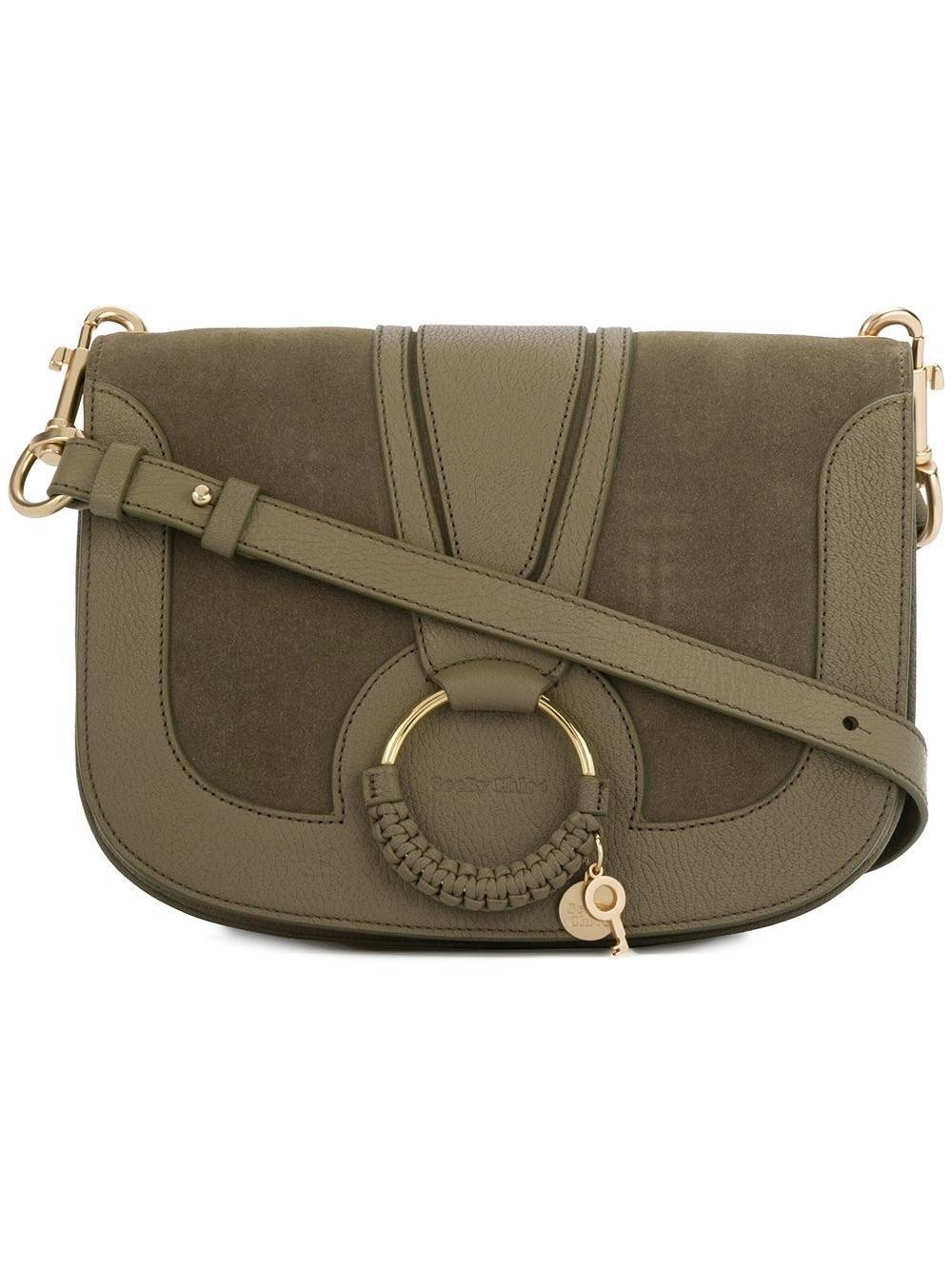 See By Chloé Hana Shoulder Bag Dark Khaki