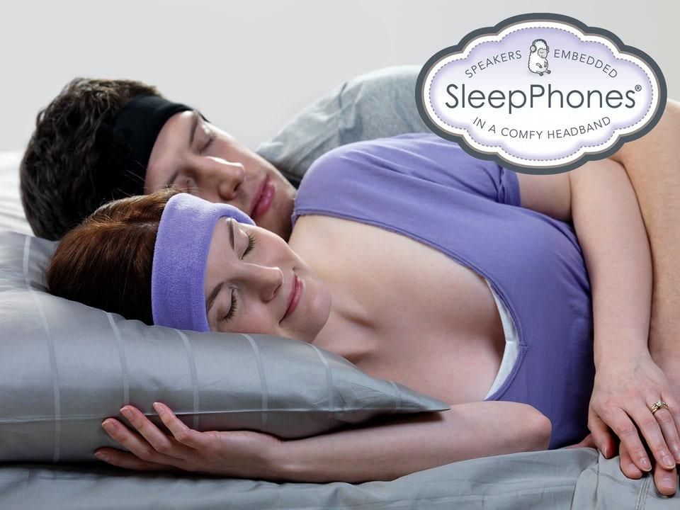 SleepPhones Original Svart Medium