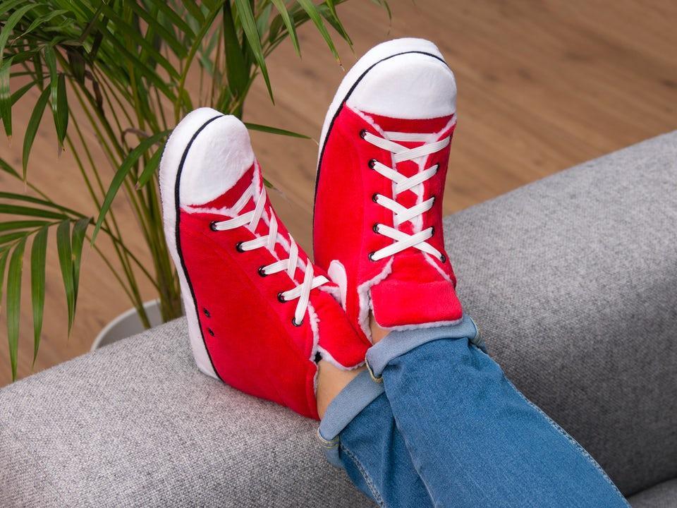 Sneaker Slippers Röd 37-40