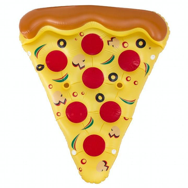 Spralla Gigantisk Pizzaslice Luftmadrass