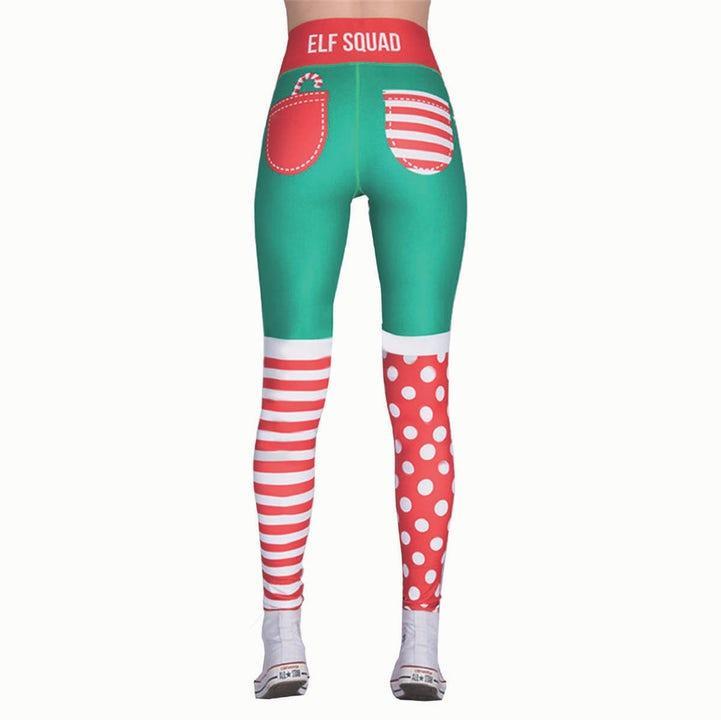 Spralla Jul-leggings Tomtenisse