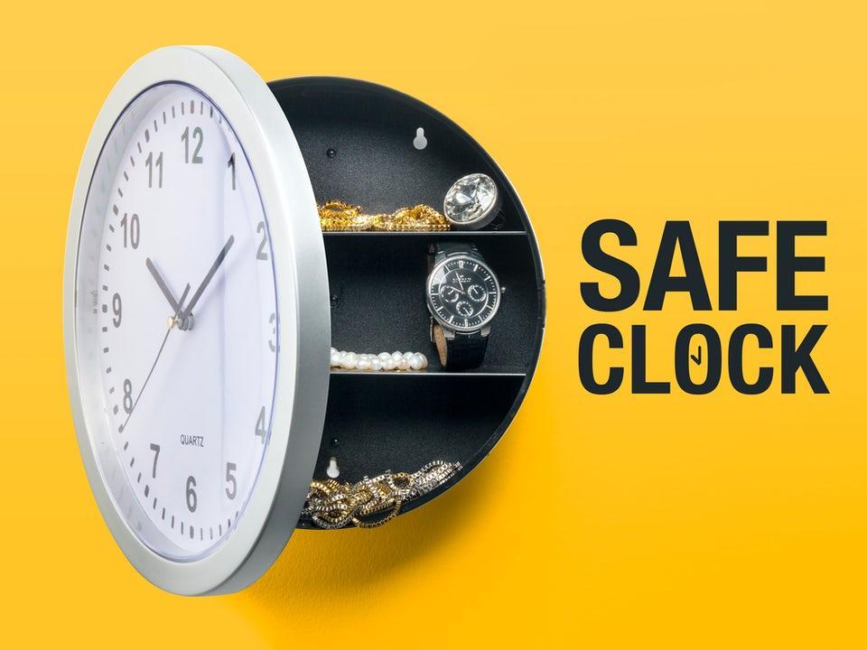 Spralla Safe Clock