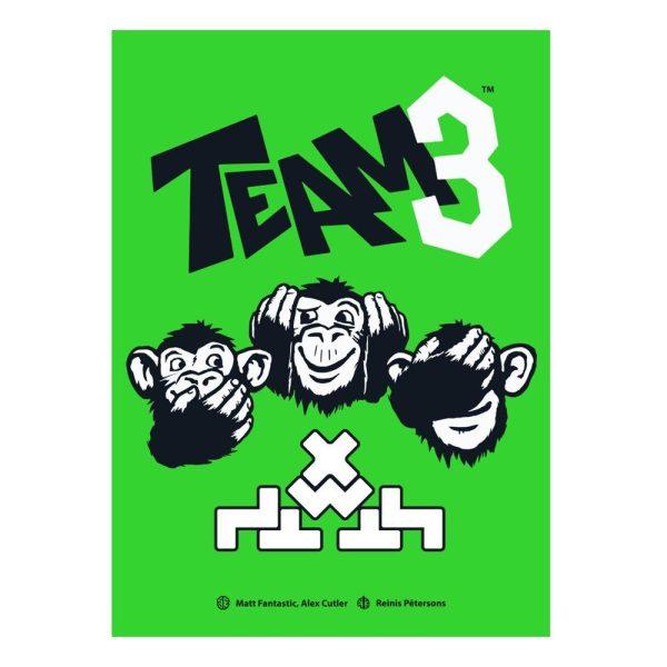 TEAM 3 Spel - Grön