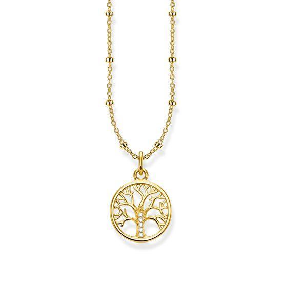 Thomas Sabo Halsband Tree of Love Guld