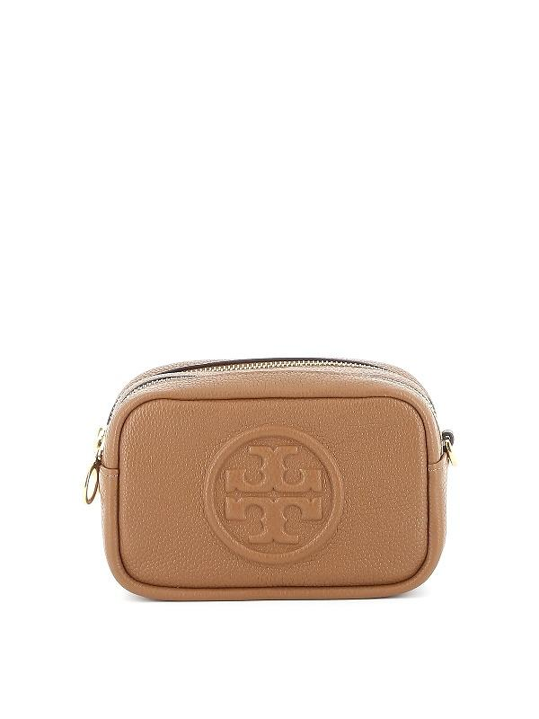 Tory Burch Perry Bombe Mini Bag Small Leathers Moose
