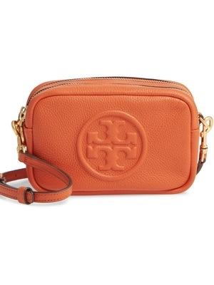 Tory Burch Perry Bombe Mini Bag Small Leathers Pomander