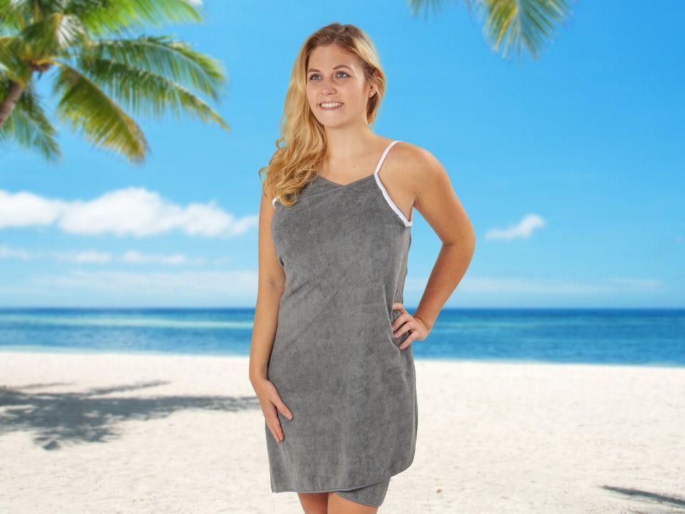 Towel Dress 2.0 - Grå Small