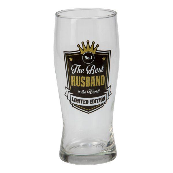 Ölglas The Best Husband