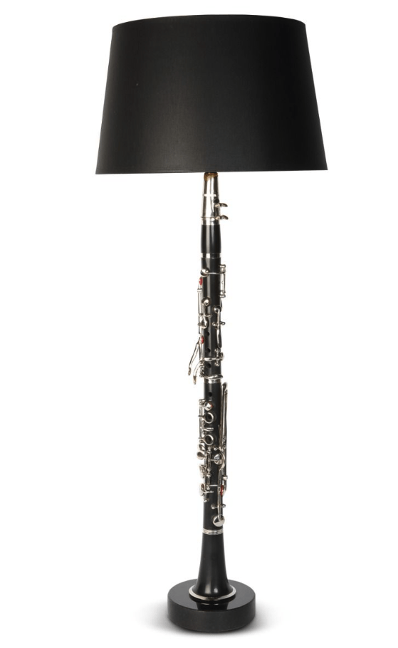 Bordslampa DEFRANCO CLARINET BLACK