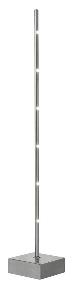 Bordslampa Pin Metall Satin, 6 ljus