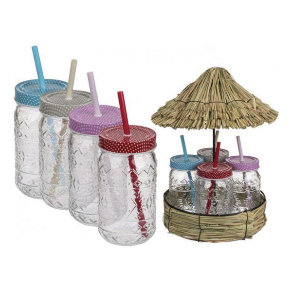 Dryckesglas Tiki Style - 4-pack