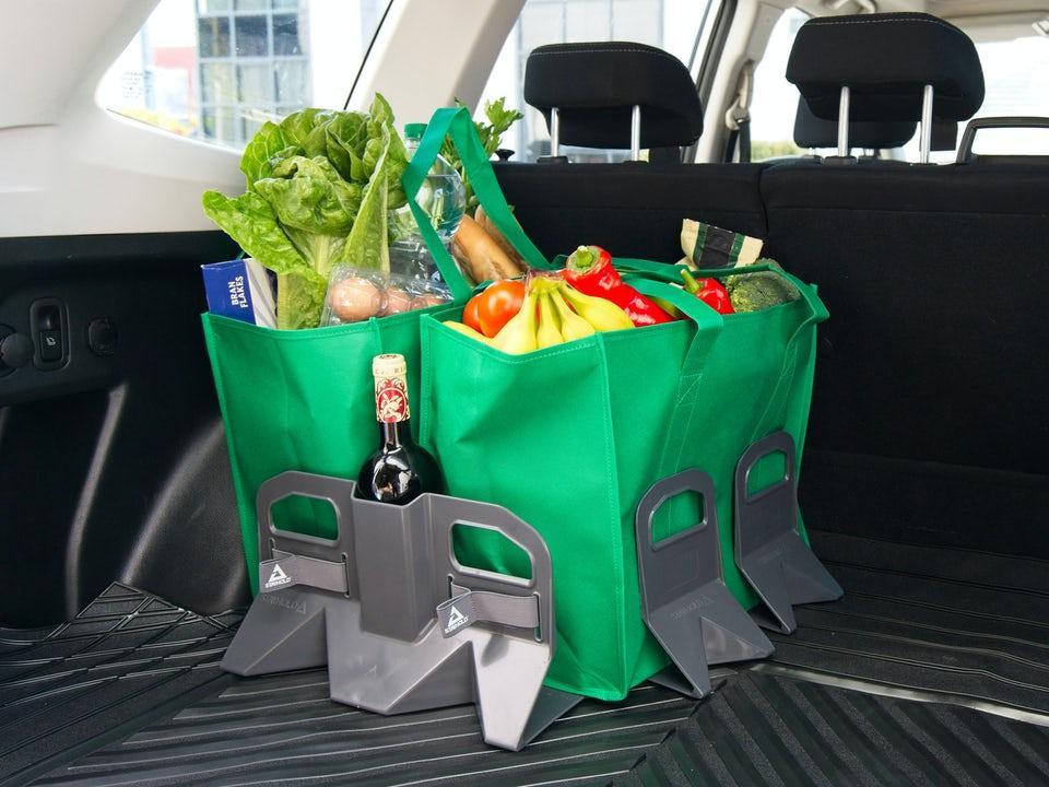 Stayhold Bagageorganiserare för gummimatta - S