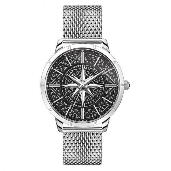 Thomas Sabo Herrklocka Rebel Spirit Kompass 42 mm Stål/Svart