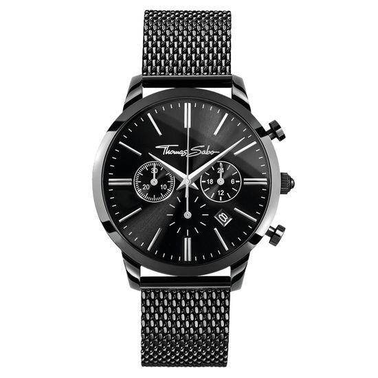 Thomas Sabo Herrklocka Rebel Spirit Kronograf All Black
