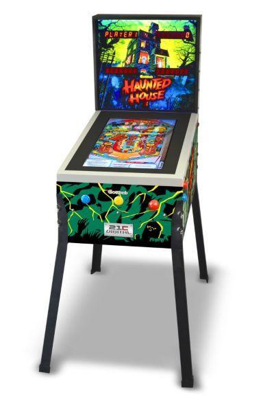 Digital Pinball Haunted House med 12 spel