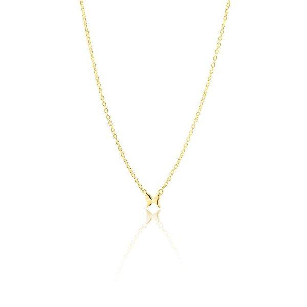 Gynning Jewelry Petite Papillion Halsband Guld