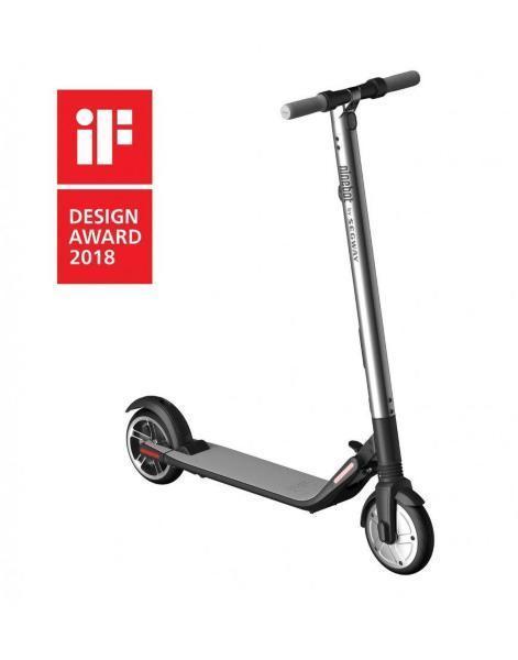 Ninebot by Segway ES2 Elektrisk Sparkcykel - Grå (Fyndvara - Klass 3)