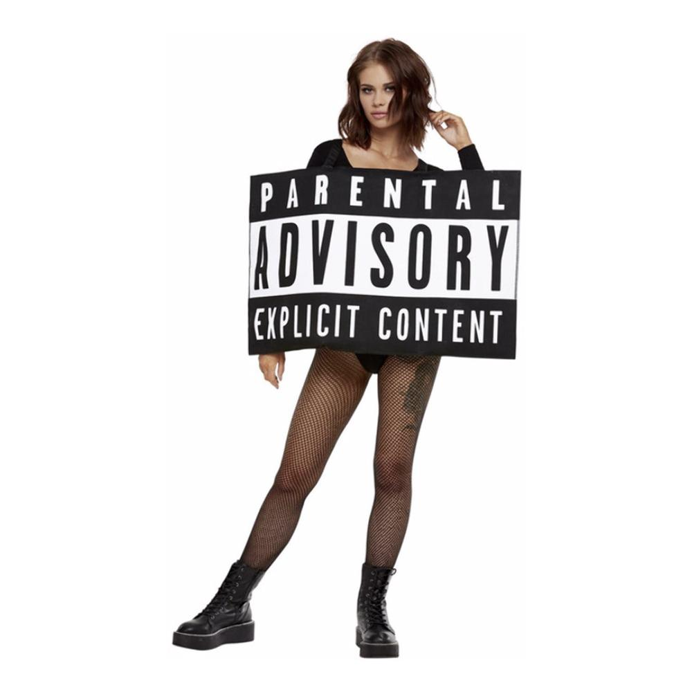 Parental Advisory Maskeraddräkt - One size