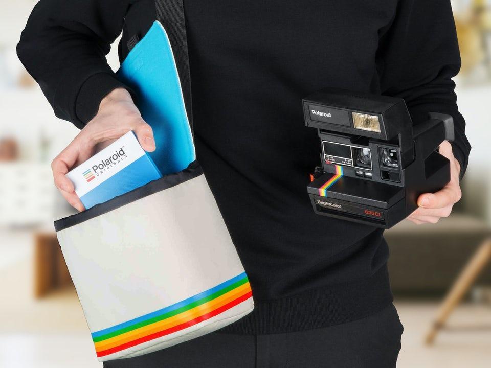 Polaroid Originals Kameraväska - Kräm