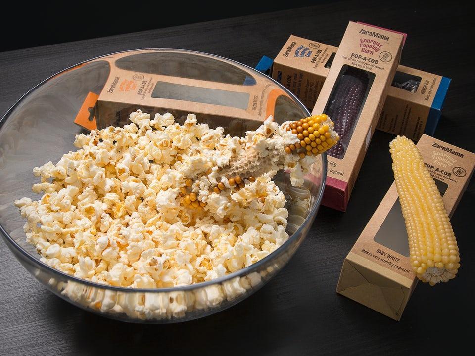 Popcorn Pop-A-Cob Gourmetpopcorn Golden Butter
