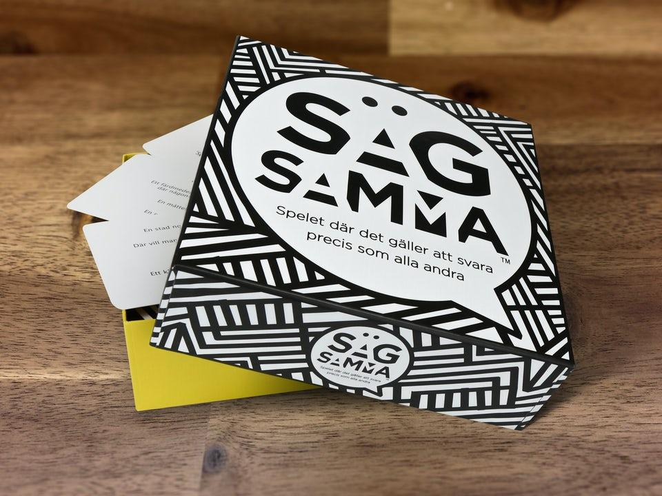 Säg Samma Svensk Version