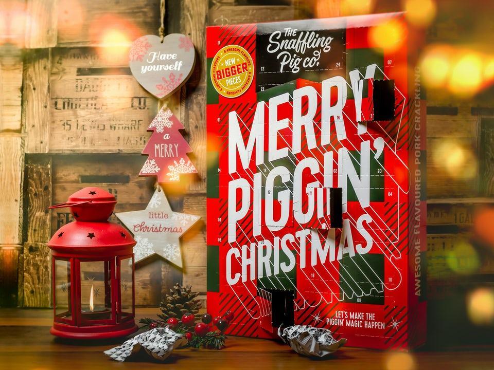 The Snaffling Pig Fläsksvålar Adventskalender