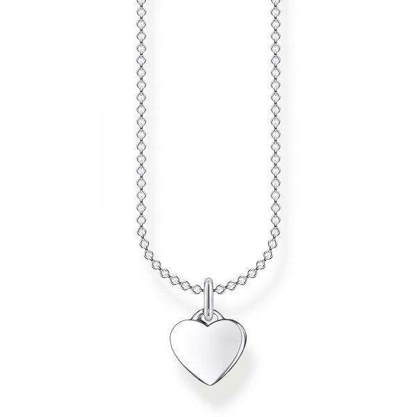 Thomas Sabo Halsband med Hjärta Silver
