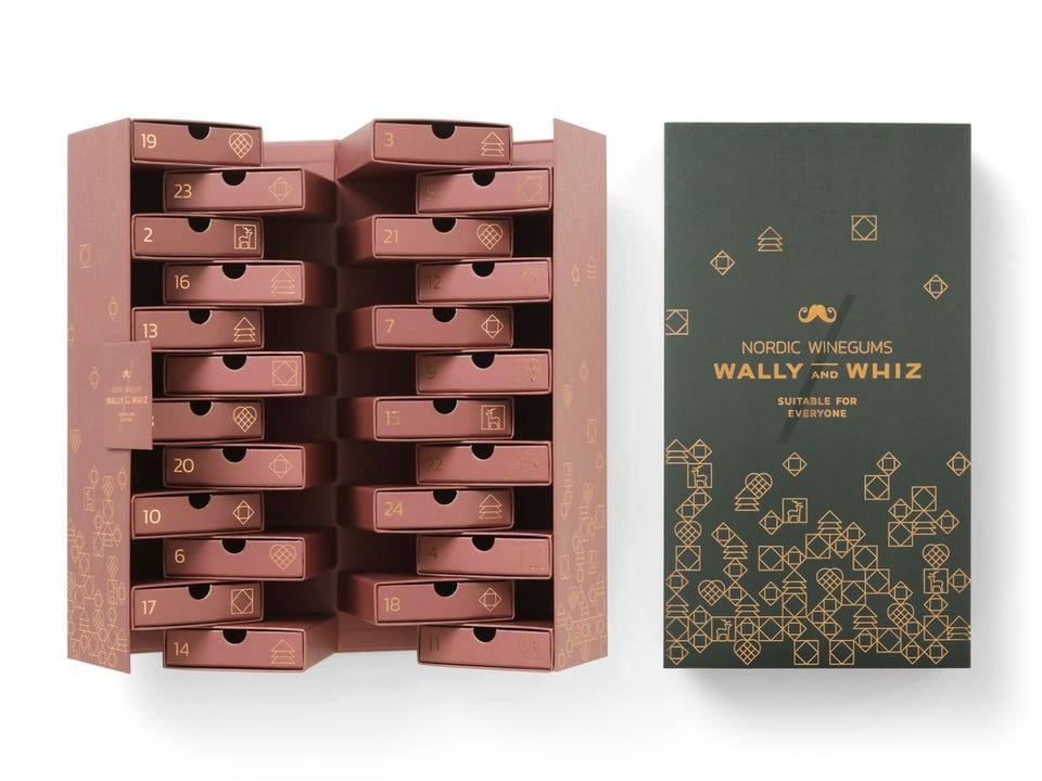 Wally and Whiz Adventskalender - Grey