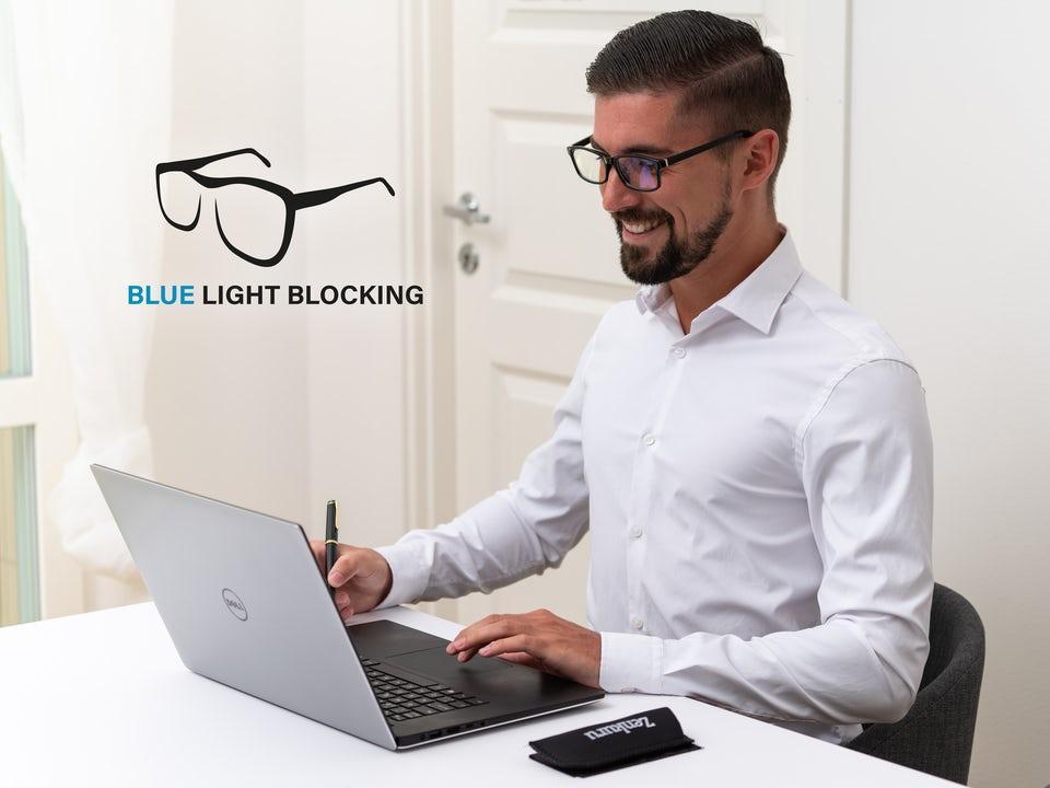 Zenkuru Glasögon med Blåljusfilter