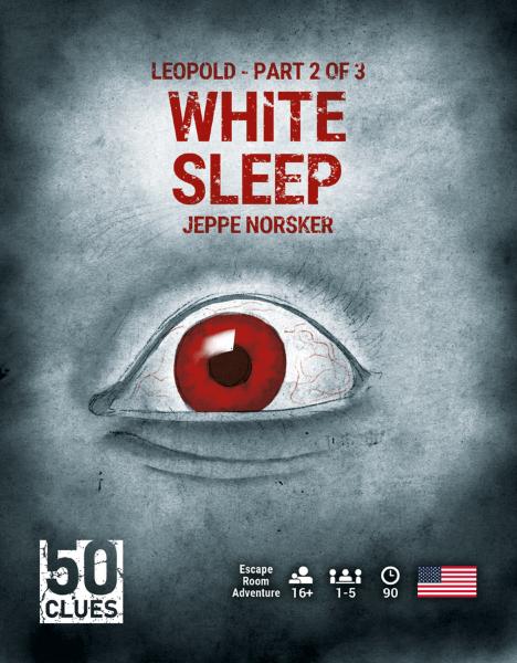 50 Clues - 2 - White Sleep (Engelsk)