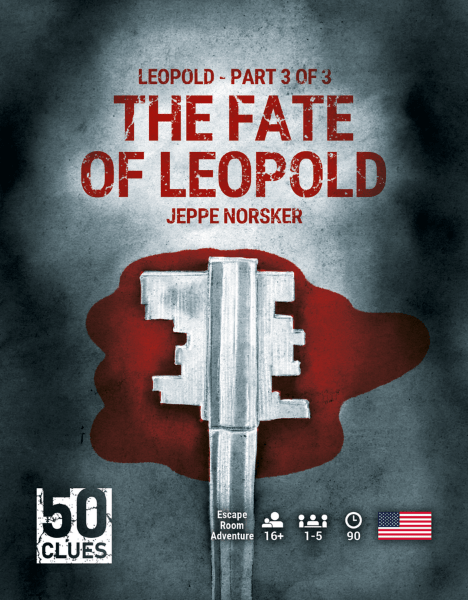 50 Clues - 3 - The Fate of Leopold (Engelsk)