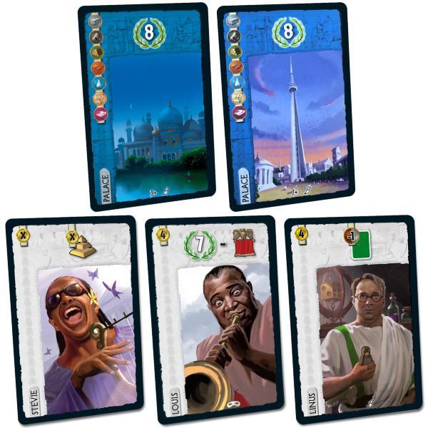 7 Wonders - 5 bonuskort