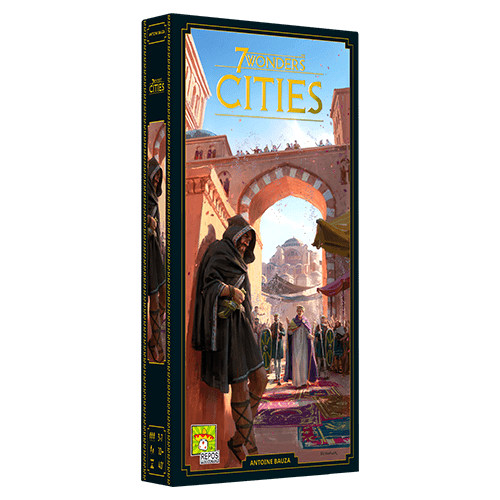 7 Wonders Cities Expansion V2 (Eng)