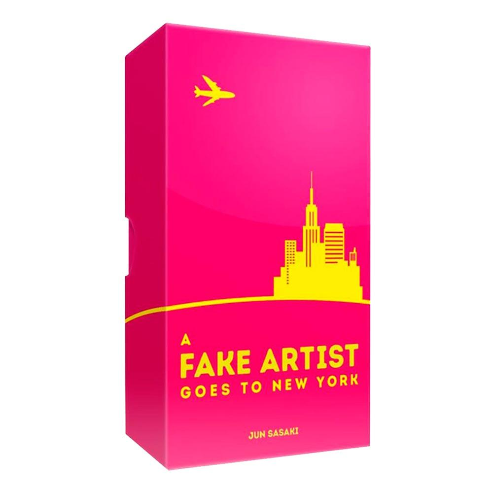 A Fake Artist Goes To New York Spel