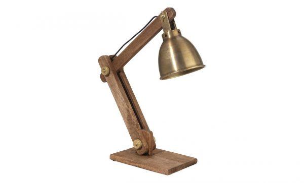 ASHBY Bordslampa Guld 50