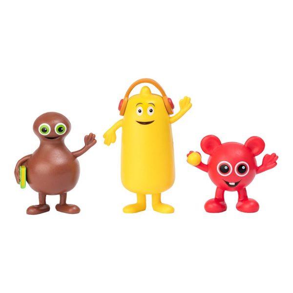 Babblarna Figurset - Babba, Bibbi & Bobo