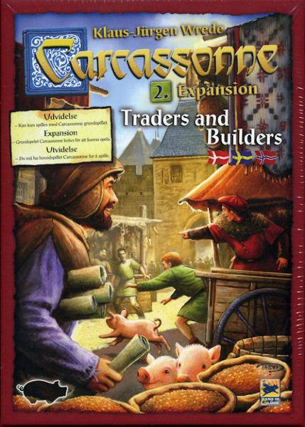Carcassonne - Expansion 2: Traders & Builders (Skandinavisk)