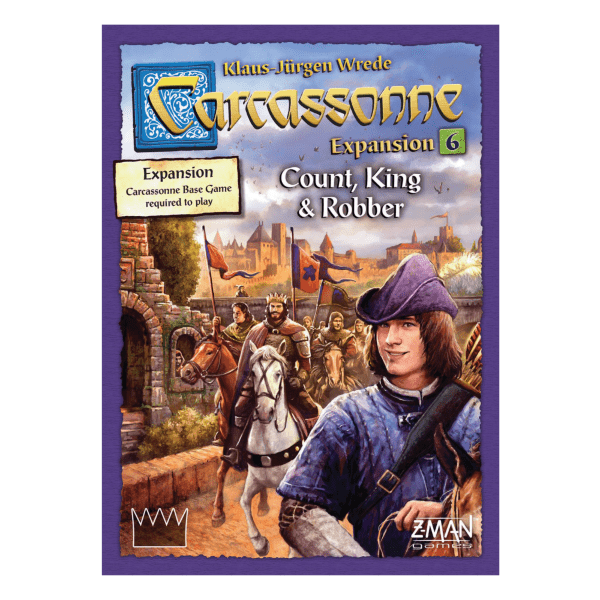 Carcassonne - Expansion 6: Count, King and Robber (Engelsk)