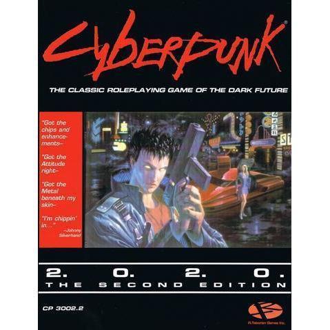 Cyberpunk 2020 RPG Core Rulebook