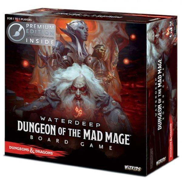 Dungeons & Dragons: 2018 Mad Mage Board Game (Premium Edition)