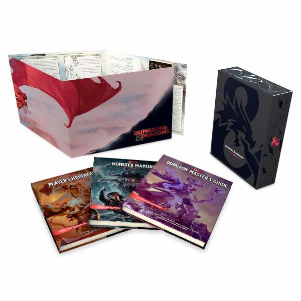 Dungeons & Dragons Core Rulebook Gift Set (5th Edition)