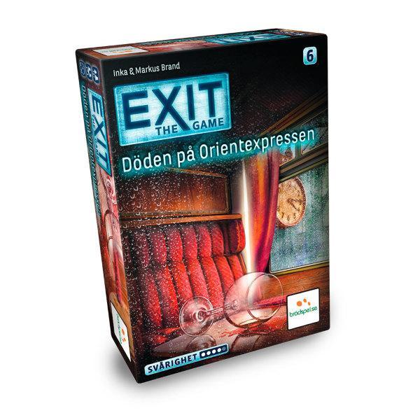 EXIT: Döden på Orientexpressen (Svensk)