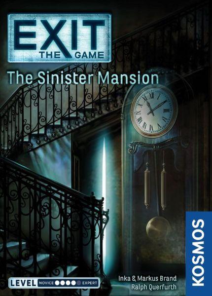EXIT The Sinister Mansion (Engelsk)
