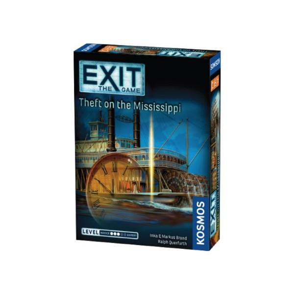 Exit: The Theft On The Mississippi (Engelsk)