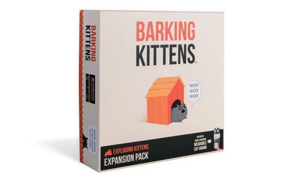 Exploding Kittens: Barking Kittens 3rd Expansion (Engelsk)
