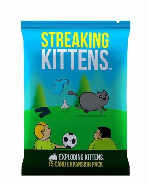 Exploding Kittens Streaking Kittens 2nd Expansion (Engelsk)