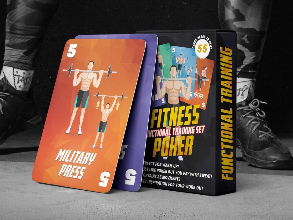 Fitness Poker - Bodyweight
