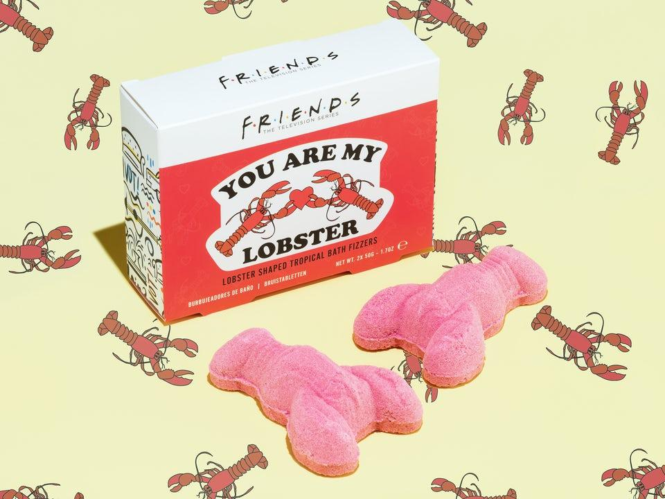 Friends You Are My Lobster Badbomber 2-pack